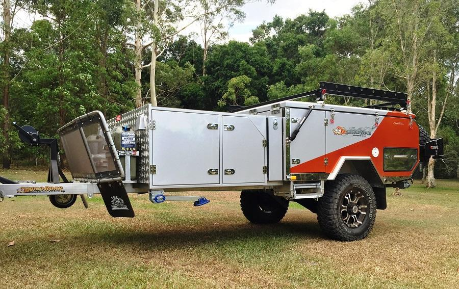 Wild Boar ~ Forward Folding Full Off Road Camper