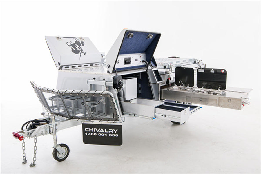 Chivalry Campers ~ LGC Rear Fold